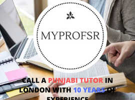 Talk to us for Best Punjabi Tutors in London