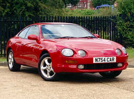 Toyota Celica, 1995 (N) Red Coupe, Manual Petrol, VERY CLEAN EXAMPLE