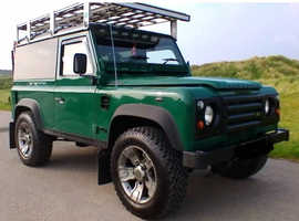 Land Rover DEFENDER 90, 2003 (53) green 4x4, Manual Diesel, 160,000 miles