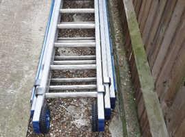 Triple 21 ladders