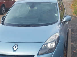 Renault Scenic, 2010 (60) Blue MPV, Manual Diesel, 137,000 miles