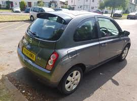 Nissan Micra, 2004 (04) Grey Hatchback, Manual Petrol, 116,000 miles