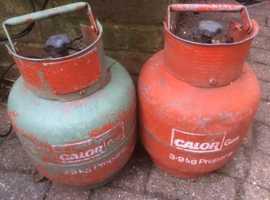 Empty 3.9 kg Propane caloor gas cylinders