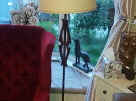 Iconic Teak standard lamp