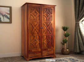 Buy Wooden Wardrobe @Lowest Price | UK