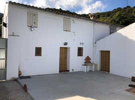 Rural old House with mountain in Subbetica Mountain Andalusia (South Spain)