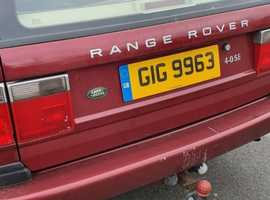 Land Rover Range Rover, 2001 (Y) red estate, Automatic Petrol, 122000 miles