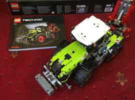 Lego Technic 42054 Claas Xerion 5000 Trac VC Building Power Functions Tractor.