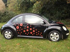 Volkswagen Beetle, 2004 (54) Black Hatchback, Manual Diesel, 1 miles