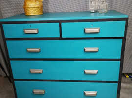 1951 R.Wilkinsons upcycled shabby chic chest of drawers