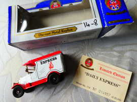 VARIOUS MODEL VEHICLES; ALL IN  MINT CONDITION