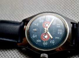 WW2 Ruhla Wristwatch Working