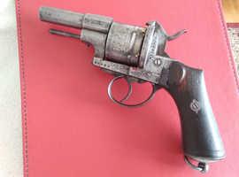 Antique Lefaucheux 12mm pinfire revolver