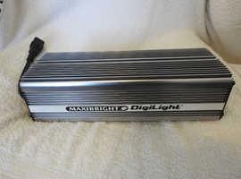Maxibright Digilight 600 Watt Ballast for Grow Light