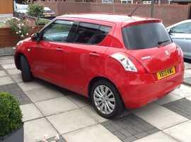 Suzuki Swift, 2013 (13) Red Hatchback, Automatic Petrol, 4,000 miles