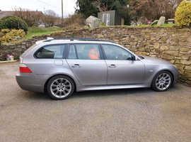 BMW 5 Series, 2006 (56) Grey Estate, Automatic Diesel, 142,000 miles