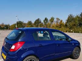 Vauxhall Corsa, 2014 (63) Blue Hatchback, Manual Petrol, 48,327 miles