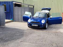 Mini MINI, 2003 (03) Blue Hatchback, Manual Petrol, 111,103 miles