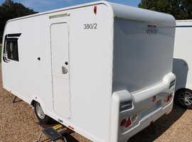 Lunar Venus 380/2 2012 2 Berth Caravan + Motor Mover + One Owner from New