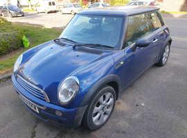Mini MINI, 2003 (03) Blue Hatchback, Manual Petrol, 129,000 miles