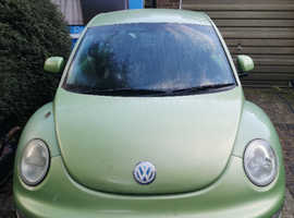 Volkswagen Beetle, 2002 (02) Green Hatchback, Manual Petrol, 111,672 miles
