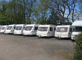 good used touring caravans in north devon for sale from 2 berths to 6 berths