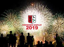 BLAYDON RFC BONFIRE & FIREWORK EXTRAVAGANZA 2019