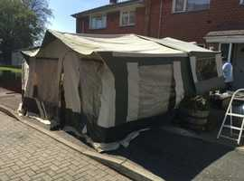 Pennine fiesta trailer tent 4 berth