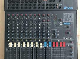 Mixer: Spirit Folio FX8 by Soundcraft