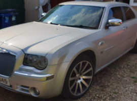 Chrysler 300c, 2007 (07) Silver Saloon, Automatic Diesel, 174,000 miles