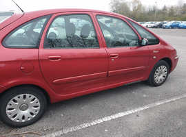 Citroen Xsara, 2005 (55) Red Estate, Manual Diesel, 71,000 miles