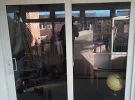 Double glazed patio door in very good condition