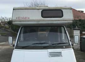 Renault Traffic Elddis Eclipse Campervan