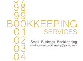 Bookkeeping services for Small Businesses.
