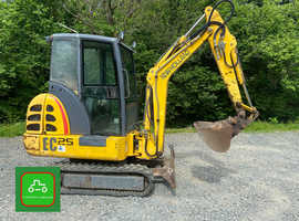 NEW HOLLAND EC25 TOWABLE MINI DIGGER 2.8T WORK READY SEE VIDEO + VAT
