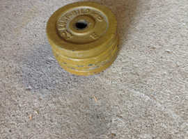 2.5 Kg Cast Iron Free weights