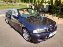 2003/52 BMW 3 series 330 CI SPORT CONVERTIBLE FSH 2 KEYS