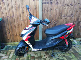 Beeline Tapo 50cc scooter. Excellent condition. Very low mileage