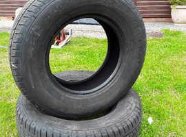 4x4 tyres + 4 winter tyres