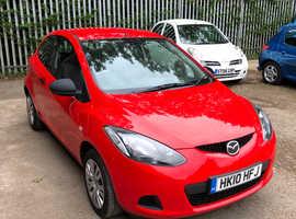Mazda MAZDA 2, 2010 (10) Red Hatchback, Manual Petrol, 36,766 miles