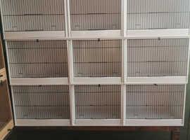 Treble breeding cages