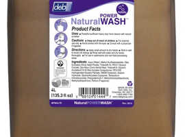 Deb Natural Power Wash 4 x 4 ltr - Approved Clearance Items
