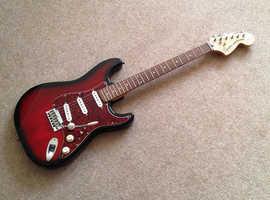 Squier Standard Series Stratocaster guitar Aberdare, Rhondda Cynon Taf