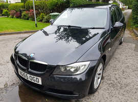 1 owner BMW 3 Series 320i SE 4dr, 2005 (55) Black Saloon, Manual Petrol, 108,000 miles