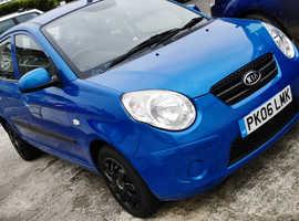Kia Picanto, 2010 (10) Blue Hatchback, Automatic Petrol, 31,400 miles