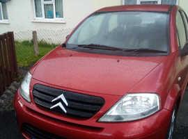 Citroen C3, 2007 (57) red hatchback, Manual Petrol, 60,080 miles