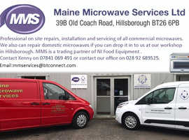 MICROWAVE REPAIRS Hillsborough Co. Down
