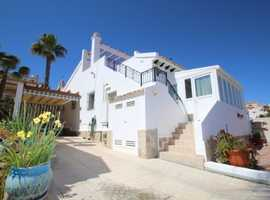 Blue Lagoon, Villamartin, Costa Blanca Detached Villa with Private Rooftop Solarium, Jacuzzi and Outside Kitchen and More
