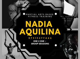 Nadia Aquilina Martial Arts Fitness