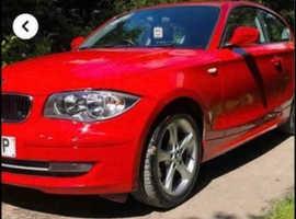 BMW 1 series, 2010 (60) Red Hatchback, Manual Petrol, 62,667 miles